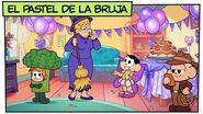Mónica y sus Amigos El pastel de la bruja