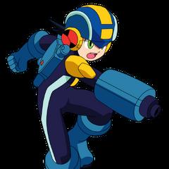 Megaman en <a href=