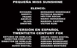 Doblaje Latino de Pequeña Miss Sunshine