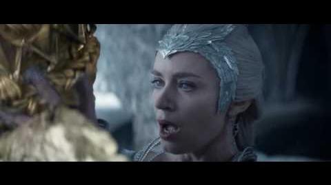 El Cazador y La Reina del Hielo Vídeo Clip - El secreto oscuro de Ravenna (Latino)