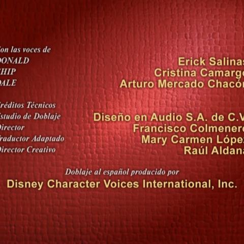 Créditos de redoblaje ¡A reír con Mickey