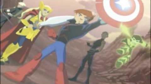 The Next Avengers Los Nuevos Vengadores Alberto Cortes