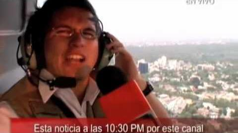 Enzo Fortuny en Comercial Soriana TV Reportaje Gigante