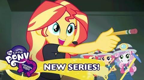 MLP Equestria Girls Temporada 1 Latino América - 'Todos Tras Bambalinas' 🚂 Short Exclusivo