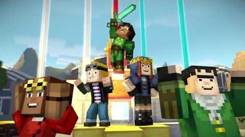 Minecraft Story Mode Season 2 español latino episodio 1 pt 1 Ciudad Faro