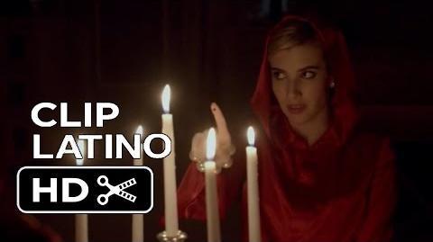 Scream Queens - Clip Doblado Español Latino 'Juramento' 1x01 (2015) Emma Roberts HD