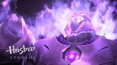 Transformers Prime Cazadores de Bestias - Mordida de Megatron