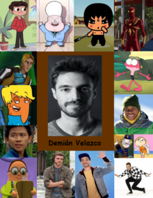 Collage de Demián
