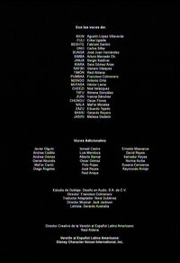 Créditos de doblaje de La guardia del león (Temporada 1) (TV) (DJ)