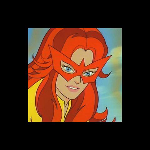 Angelica Jones / Estrella de Fuego en <a href=