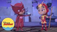 An Yu Rescata a un Ave PJ Masks Héroes en Pijamas