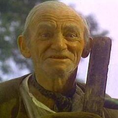 Ben Weatherstaff (Walter Sparrow) en <a href=