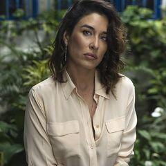 Voz habitual de la actriz mexicana-brasileña <a href=