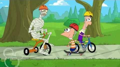 Mi Momia Zombie Y Yo - Phineas y Ferb HD