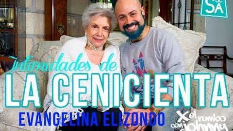"""Muere Evangelina Elizondo """"La Cenicienta"""" la recordamos en la intimidad de su hogar Johnny Carmona"""