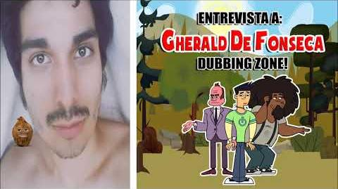 Entrevista a Gherald De Fonseca en Dubbing Zone
