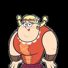 Helga Magnuson en <a href=