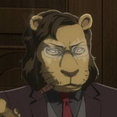 Jefe de Shishigumi en <a href=