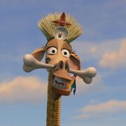 Melman de Madagascar 2