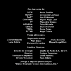 Créditos del Doblaje de la 1ra Temporada