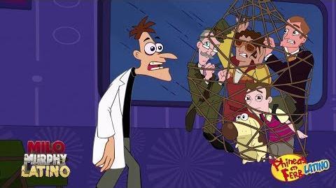 Anteriormente en La ley de Milo Murphy - El efecto Phineas y Ferb