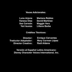 Créditos temporada 12, parte 2