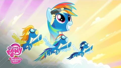 MLP Rainbow Dash y Los Wonderbolts