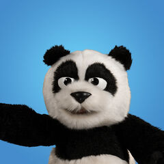Panda en el canal <a class=