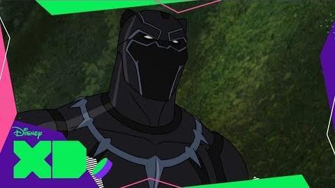 Pantera Negra Los Vengadores de Marvel Guerras Secretas