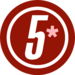 Logotipo actual del canal 5 (mexico)