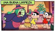 Mónica y sus Amigos Una buena limpieza