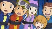 Takuya y sus amigos conocen a Grumblemon - Latino