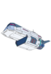 Vehicle - Galaxy One low angle (Transparent for main page)
