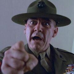 Sargento Hartman en <a href=