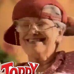 Abuela Toddy de los comerciales de <b>Toddy</b> (1989-1994)