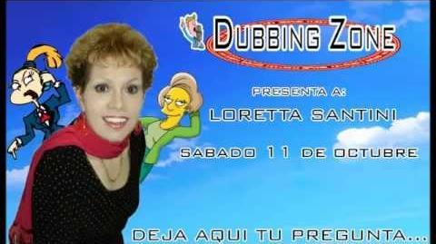 Entrevista a Loretta Santini en Dubbing Zone