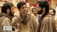 Jesús Jesús cura la ceguera del hermano de uno de sus apóstoles