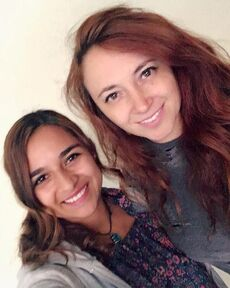 Carolina Cortes y Cristina Hernandez