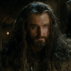 Thorin Escudo de Roble en la trilogía de <a href=