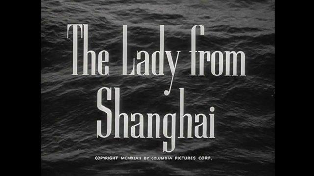 La dama de Shanghai (1947) (Español Latino)