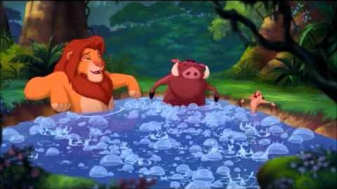 El rey leon 3 - baño de burbujas