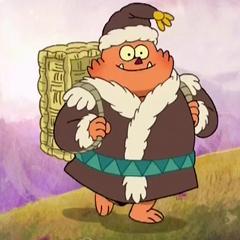 Papa de Foo en la serie animada <a href=
