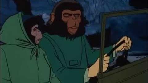 Regreso al planeta de los simios serie animada ( capitulo 12)-2
