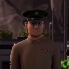 Sargento Costas en <a href=