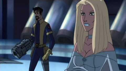 Wolverine y los x-men fragmento