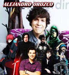 Alejandro Orozco-personajes