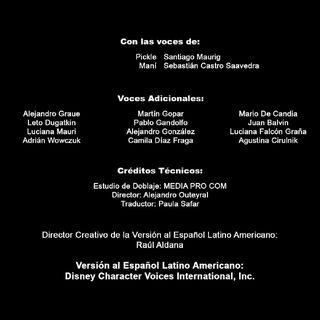 Créditos de Disney Channel HD Latinoamérica