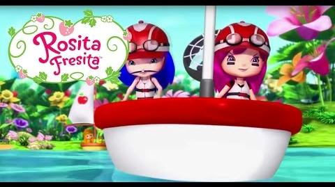 Rosita Fresita - La carrera Berry Bitty Línea de meta