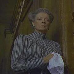 La Sra. Medlock en <a href=