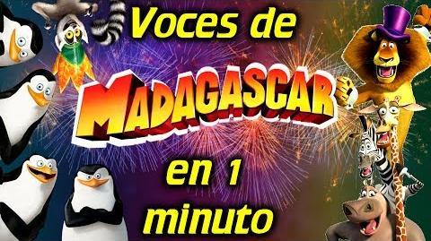 Voces de MADAGASCAR en 1 minuto- -14